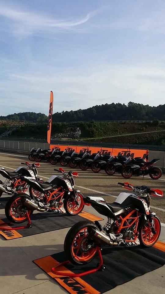 Circuit d'Alès Journée KTM