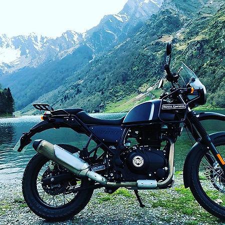 royalenfield himalayan pyrenees hautesp