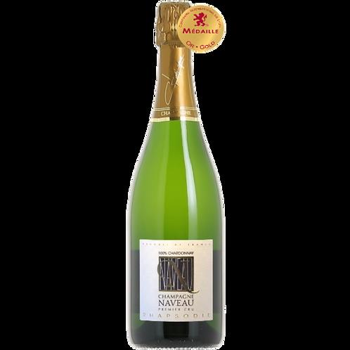 Rhapsodie Blanc de Blancs Chardonnay Brut 1er Cru Champagne Naveau Best Champagne Millésime Vintage Champagne Best in World