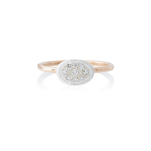 Lunar Diamond Spot Ring
