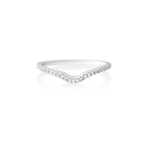 Fitted Diamond Wedding Band