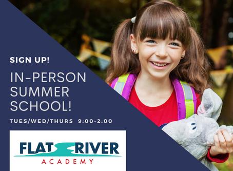 In-Person Summer School
