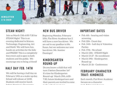Feb 7, 2020 Newsletter