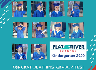 Outdoor Kindergarten Graduation