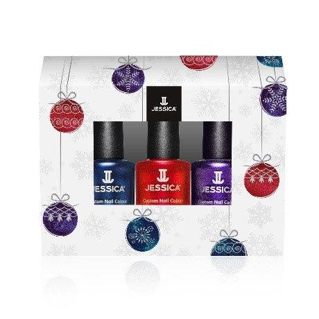 Trio Christmas glitters