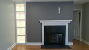 360renos Home Renovations Custom built-ins and fireplace mantal Picture Ottawa Ontario
