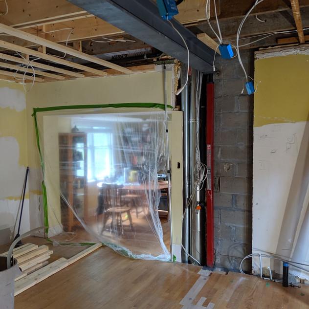 Ottawa Completed I beam Installation