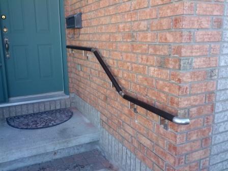 Exterior Handrail installed in Ottawa