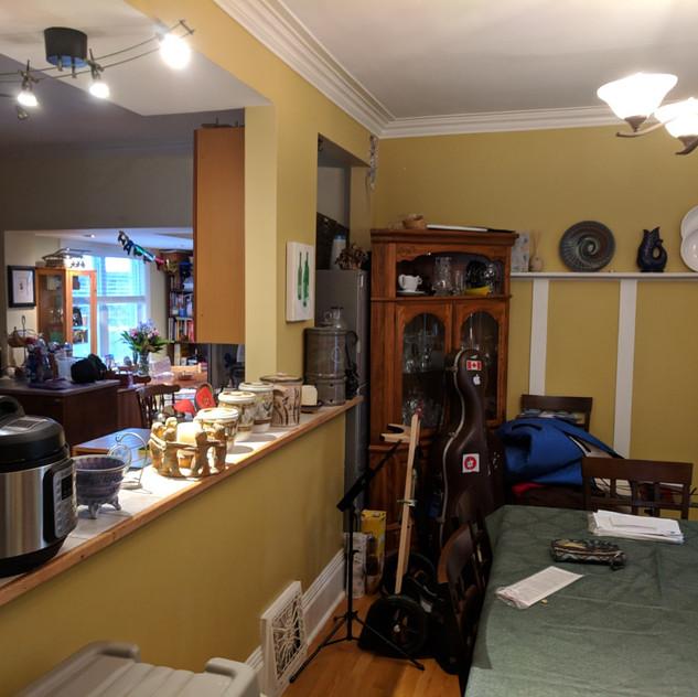 Ottawa Kitchen Wall Removal