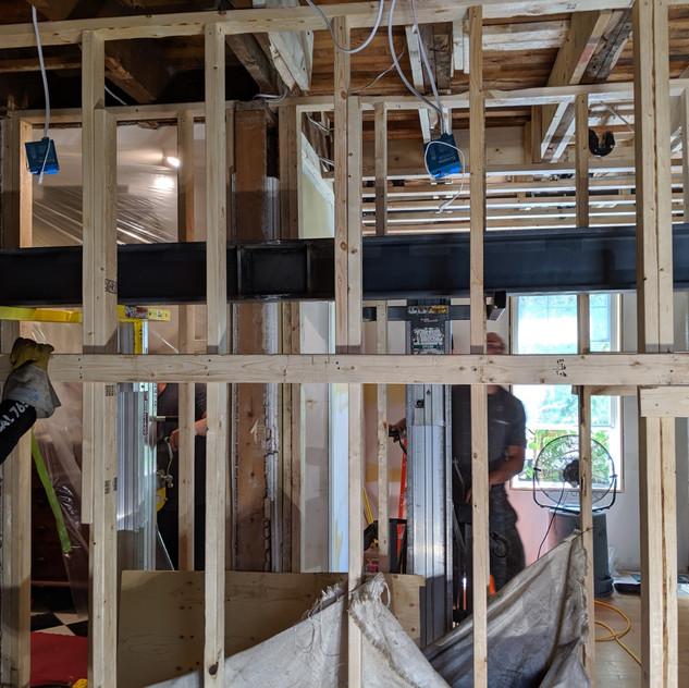 Ottawa I beam placement