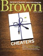 Brown Alumni Magazine Cheaters