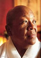 Nichiren Buddhist priest Myokei Caine-Barrett Shonin