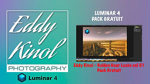 Luminar 4 Eddy Kinol - Golden hour looks vol 01