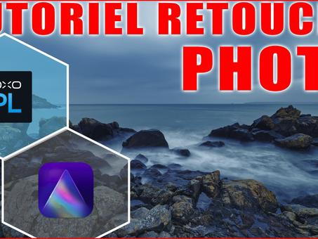 RETOUCHE rapide avec dxo PHOTOLAB 4 et LUMINAR AI | Tutoriel PHOTO en français