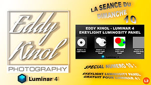 Luminar 4 Eddy Kinol Ekeylight