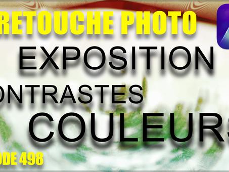 RETOUCHE PHOTO exposition contrastes couleurs | TUTORIEL créatif LUMINAR AI