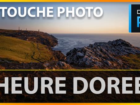 DxO photolab4 RETOUCHE PHOTO heure dorée | Tutoriel COMPLET en français