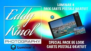 Luminar 4 Eddy Kinol Pack de look Carte postale Gratuit