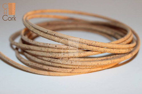 Cork String - Round, Natural