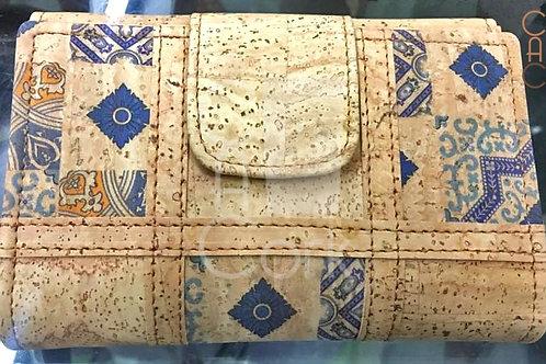 Cork Wallet - Blue