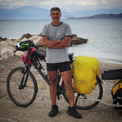 Ride 72 - day 96 - from Aigio to Corinth (Greece) - 18 September 20