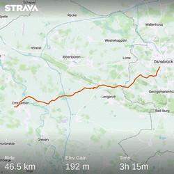Ride 06 - from Osnabrück to Emsdetten