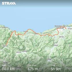 from Donastia San Sebastian to Elgoibar