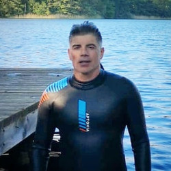 First time with a wetsuit