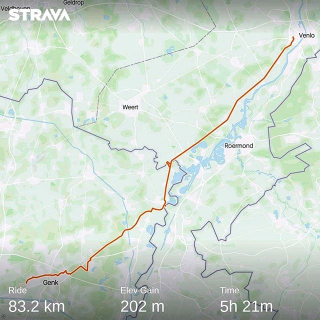 Ride 09 - from Venlo to Genk