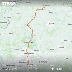 Ride 07 - from Emsdetten to Bochum - DE
