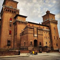 Ride 66 - day 89 - from San Dona' di Piave to Ferrara (Italy) - 10 September 20