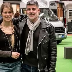 Maybritt & I @ oohh! fair Hamburg