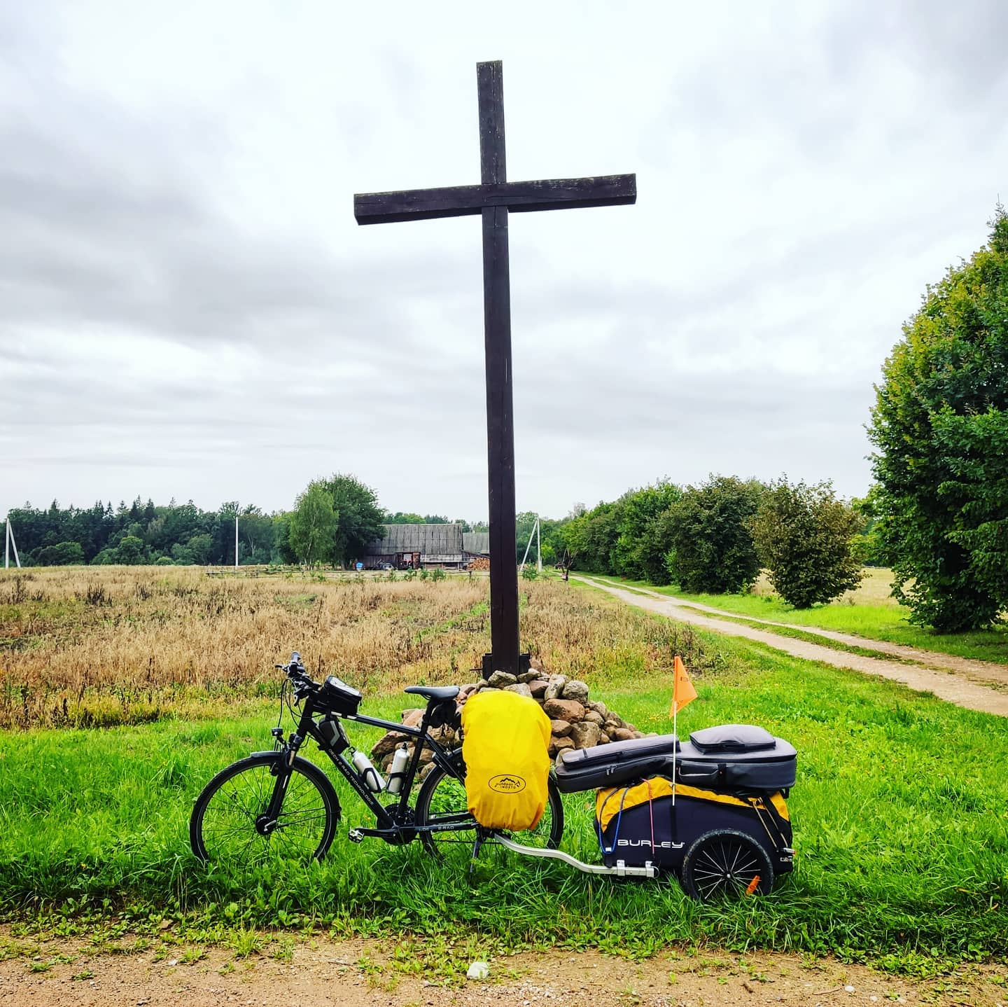 Ride 56 - day 77 - from Panevėžys to Kalimynai (Lithuania) - 28 August 20