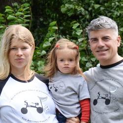family t-shirt tour pic