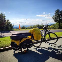 Ride 60 - day 83 - from Eisenstadt to Bad Tatzmannsdorf (Austria) - 4 September 20