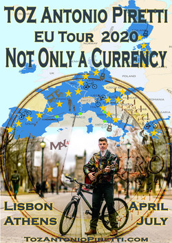 POSTER - TOUR - NOT ONLY A CURRENCY