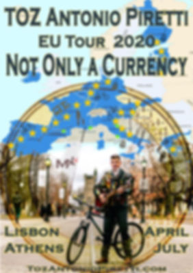 POSTER - TOUR - NOT ONLY A CURRENCY - li