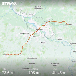 Ride 04 - from Ottersberg to Wildeshause