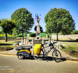 from Brux to Amgouleme (France)