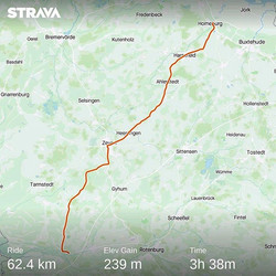 Ride 03 - from Horneburg to Ottersberg