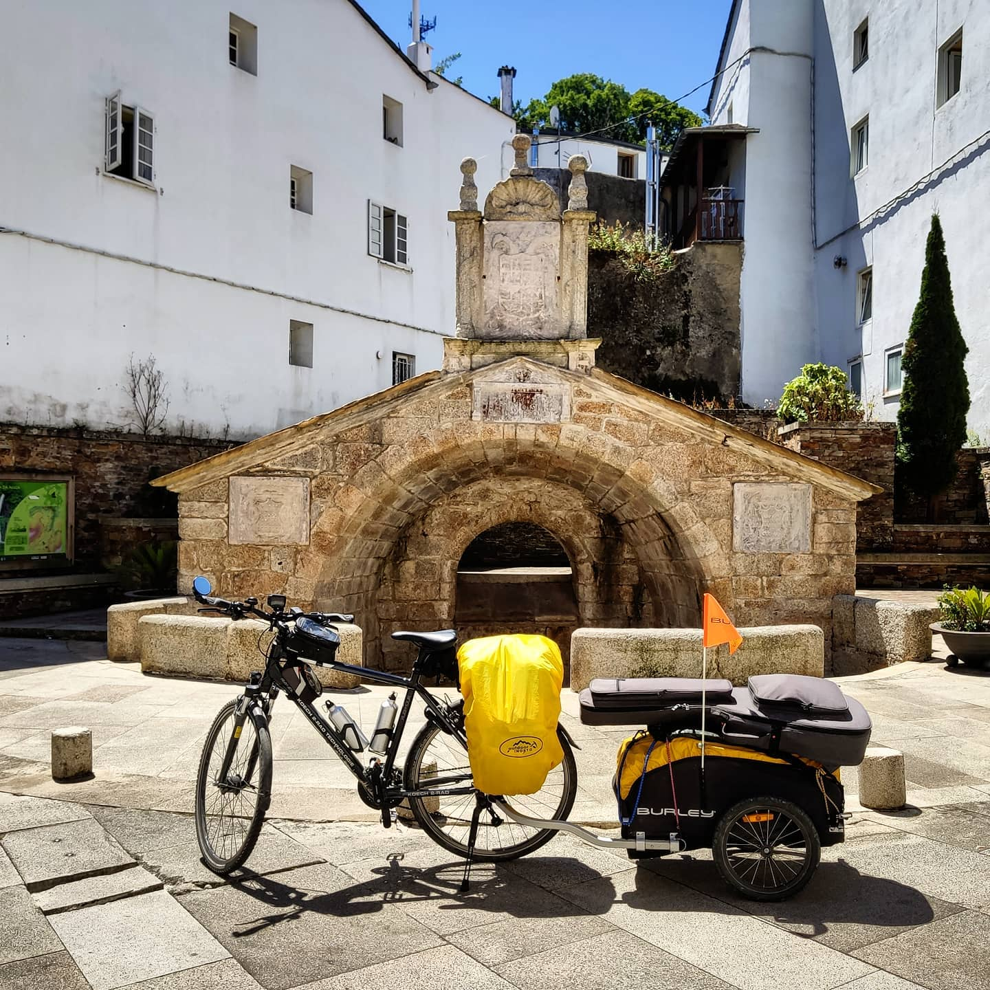 Ride 37 - from Ribadeo to Baamonde (Spain) - 24 July 20