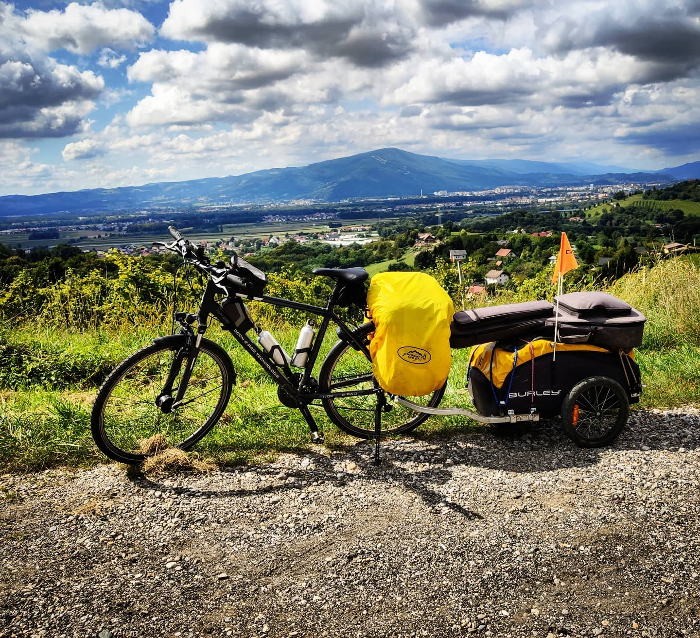 Ride 62 - day 85 - from Zgornja Velka to Celje - 6 September 20