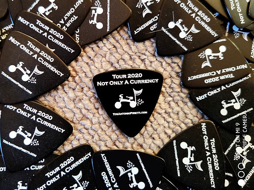 Guitar Picks - Black - 2020