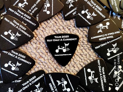 Guitar Picks - Black - 2020