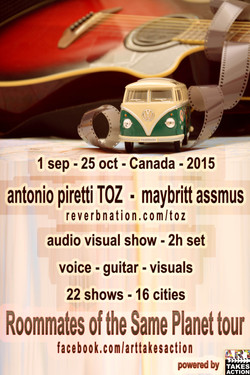 Poster Tour Canada - 2015
