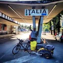 Ride 64 - day 87 - from Ljubljana (Slovenia) to Gorizia (Italy) - 8 September 20