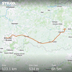 Ride 10 - from Genk to Brussels