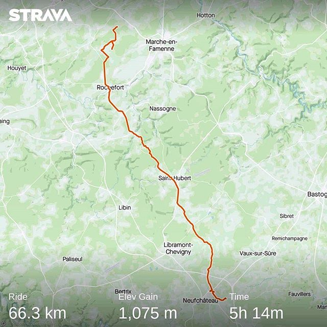 Ride 12 - Serinchamps to Neufchateau