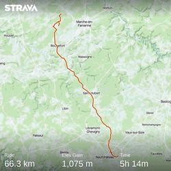 Ride 12 - Serinchamps to Neufchateau