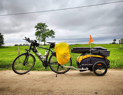 Ride 54 - day 75 - from Tuja to Riga (Latvia) - 27 August 20